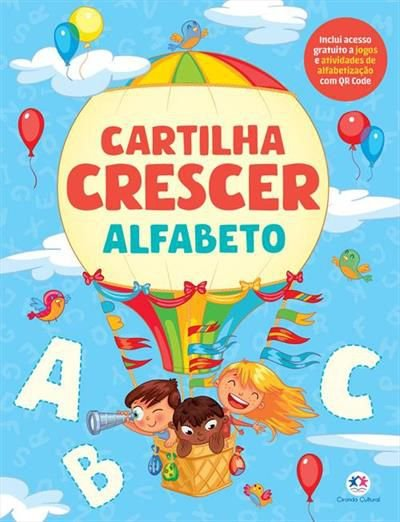 Cartilha Crescer - Alfabeto - Ciranda Cultural