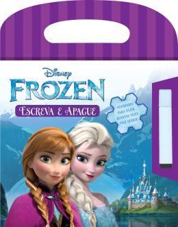 Livro Escreva E Apague Frozen Rideel