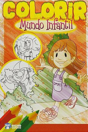 Livro Infantil Colorir Amiguinhos Do Criador Rideel