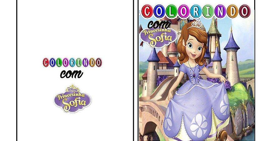 Livro Super Colorindo-Princesinha Sofia
