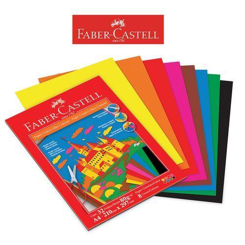 Papel Criativo Max Colorset 80Gr 32Fl A4 Faber Castell