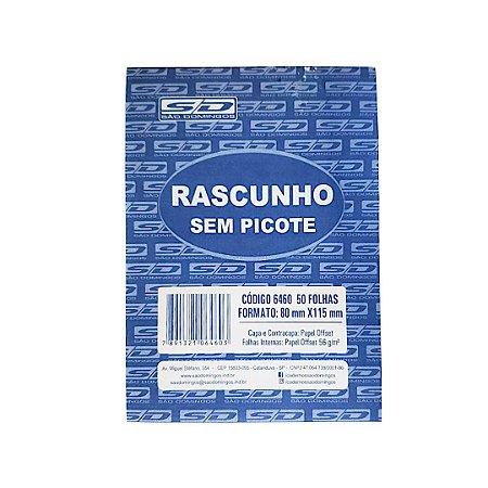 Talão De Rascunho Sem Picote 50F Sao Domingos