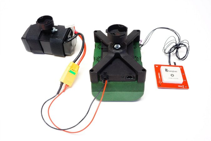 DJI Matrice 200/210 Kernel Camera Mount + Trigger Computer Board