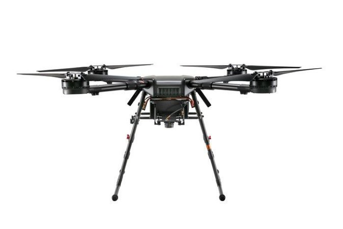 DJI Wind 4 Industrial Quadcopter Drone IP43 Rain and Dust Resistance 10kg Payload