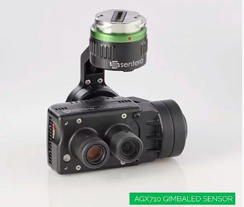 Camera Sentera Agx710 Multiespectral NDVI NDRE Rededge