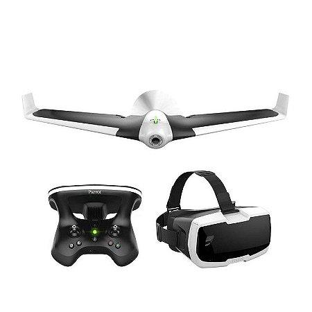 PARROT DRONE DISCO FPV AUTOPILOT + ÓCULO RV + SKYCONTROLLER 2