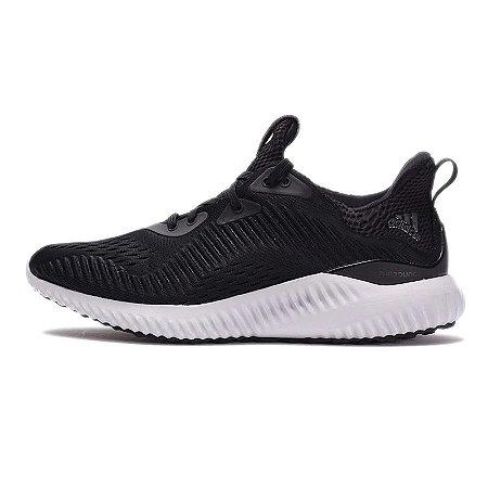 Tênis Adidas AlphaBounce EM - Masculino - Preto e Branco