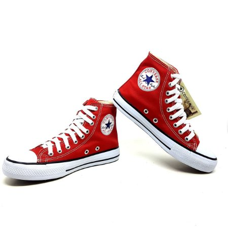 Tênis Converse All Star Mid (cano Medio) Vermelho