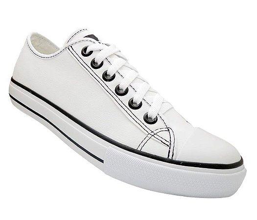 Tênis Converse All Star Couro Branco