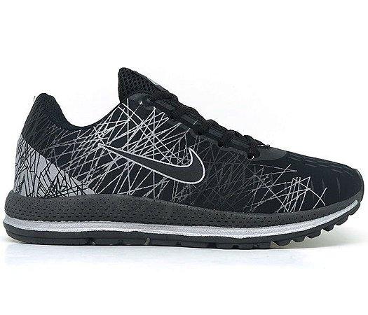 Tênis Nike Air Zoom Vomero 13 Preto e Cinza