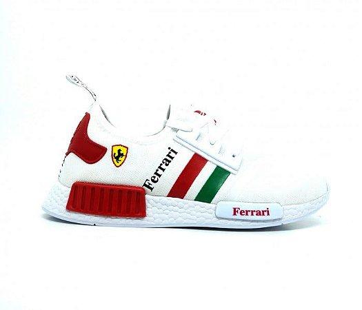 Tênis Adidas NMD Ferrari Branco