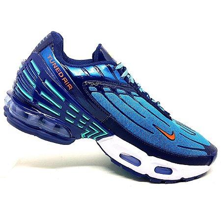 Tênis Nike Air Max Plus Tuned III Azul