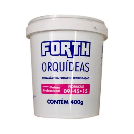 ADUBO PARA FLORAÇÃO DE ORQUÍDEA FORTH 400 G