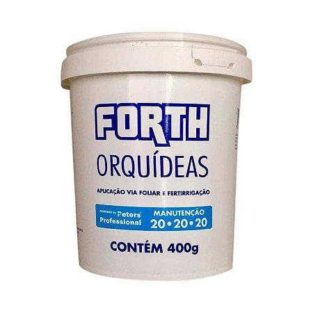 ADUBO PARA MANUTENÇÃO DE ORQUÍDEAS FORTH 400 G