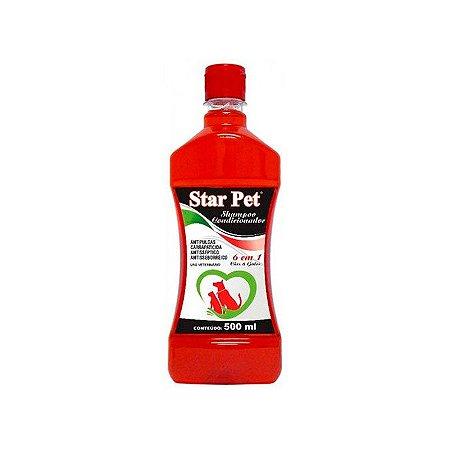 Star Pet 6 em 1 Shampoo Condicionador - 500ml