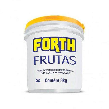Forth Frutas 3Kg - Adubo para Frutas