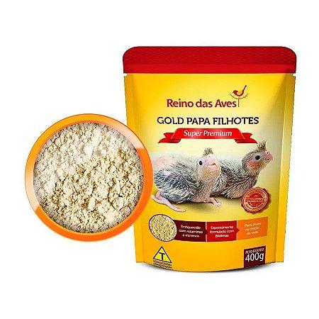 Gold Papa de filhotes Super Premium 400g