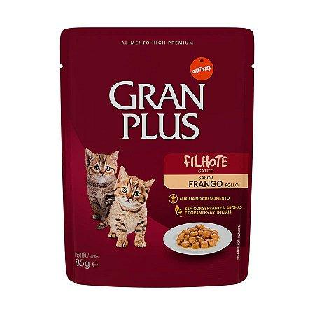 Gran Plus Gato Filhote sabor Frango sachê 85 g