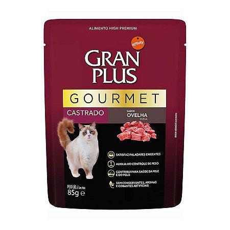 Gran Plus Gato Castrado Gourmet sabor Ovelha sachê 85 g
