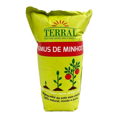 HUMUS DE MINHOCA TERRAL 1,5 Kg