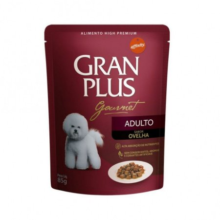 Gran Plus Cães Adulto sabor ovelha 85 g