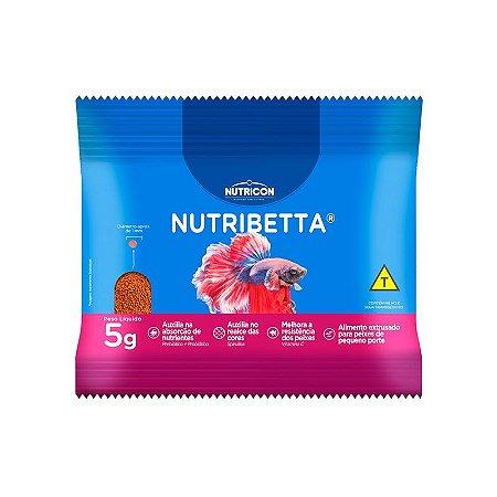 NUTRIBETTA RAÇÃO PARA PEIXES BETTA 5 G