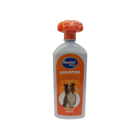 Shampoo Antipulgas e Anticarrapatos