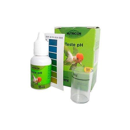 Teste de pH para Água de Aquário  15ml
