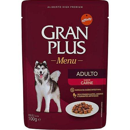 Gran Plus Menu Adulto sabor Carne 100 g