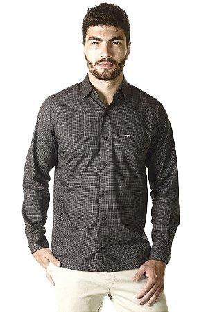 Camisa - Manga Longa Slim - Algodão 100% | Fio 70
