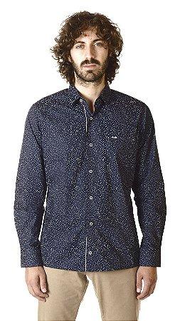 Camisa - Manga Longa Slim- 100% Algodão| Fio 70