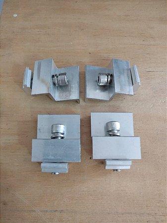 SUP934 Terminal Final - end-clamp para perfis da Série ES0XX - Altura do módulo de 40mm