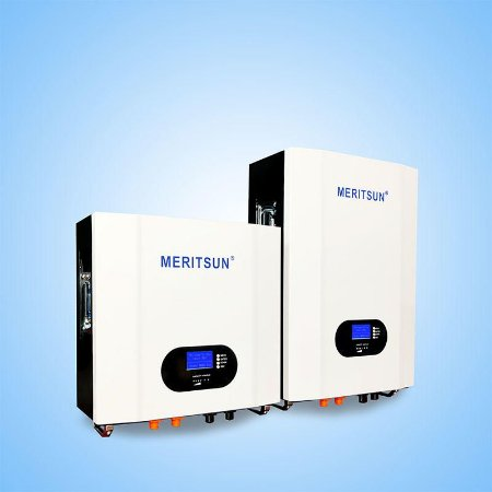 Bateria Solar Lítio PowerWall - Meritsun - LFP100-48 48Vcc 200Ah - 10kWh - LiFePO4 - 6000 ciclos