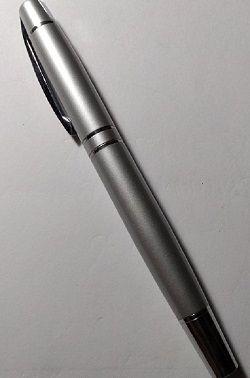 ULTIMAS UNIDADES - Caneta tinteiro com ponta Roller Boll - Silver