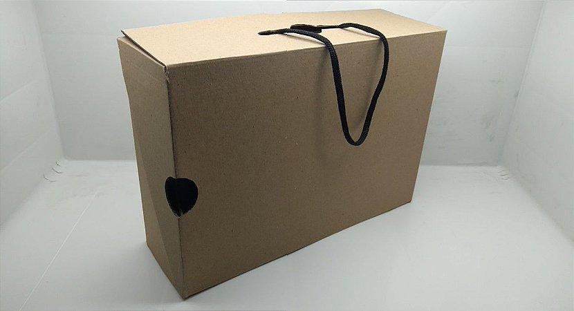 Conjunto 6 Caixas Embalagem Maleta 30 x 21 x 10 cm