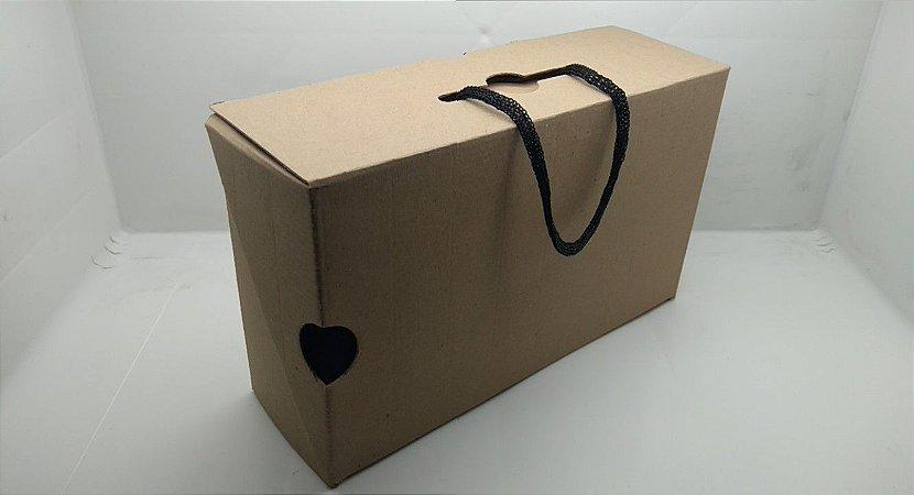 Conjunto 6 Caixas Embalagem Maleta 30 x 18 x 10 cm