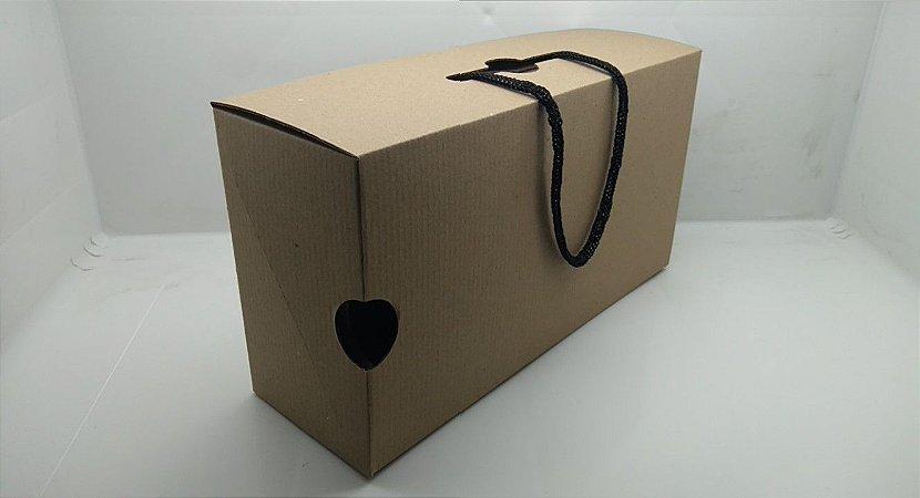 Conjunto 6 Caixas Embalagem Maleta 30 x 16 x 10 cm