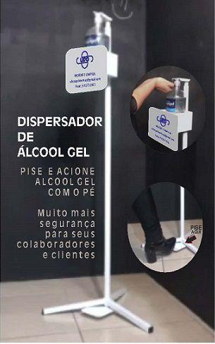 Dispensador Portátil para Higiene das Mãos
