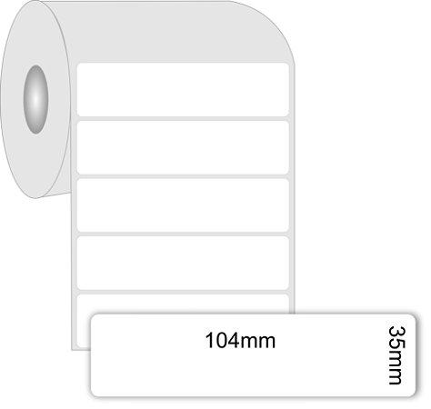 -Etiqueta 104x35/1 Papel Couche C/1000