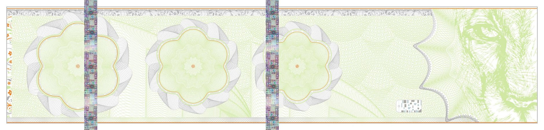 -Ingresso 3C Holografico Verde