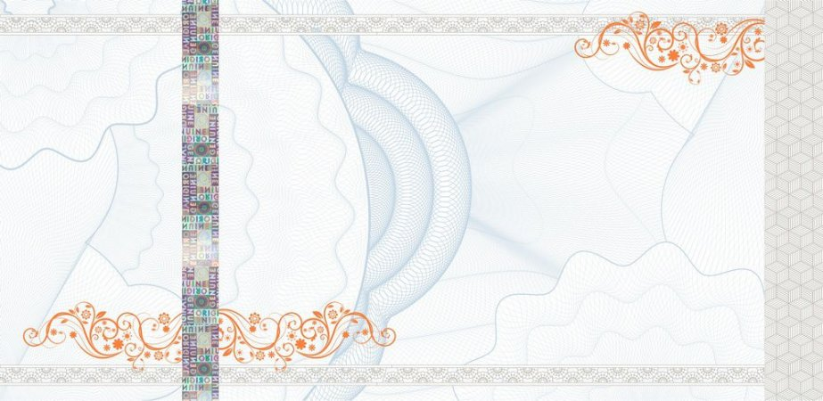 -Ingresso Couche Holografico 108x50mm Azul