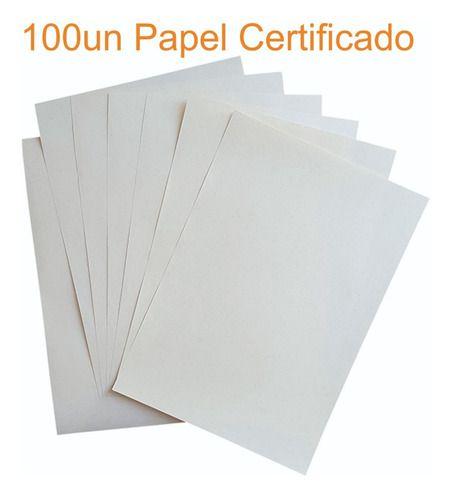 Papel Filigranado 120gr c/ 100fls ( Conhecido como Papel Moeda )