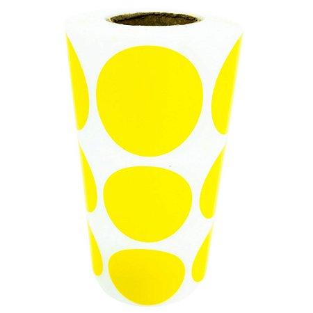 -Etiqueta 3x3/3 Rolo C/1000 Amarelo