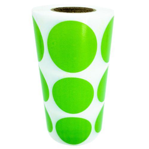 -Etiqueta 3x3/3 Rolo C/1000 Verde