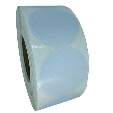 -Etiqueta 6,5x6,5/1 Rolo C/2000 Branco