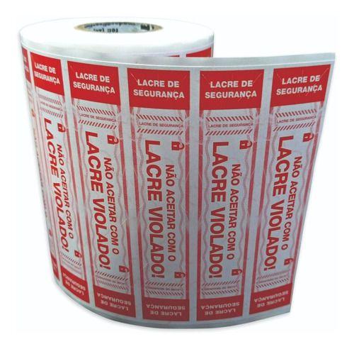 Lacre Delivery 9x2 Cm 1.000 Un