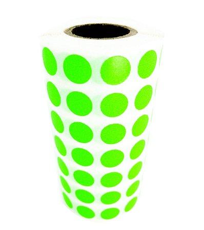 -Etiqueta 1x1/7 Rolo C/5000 Verde