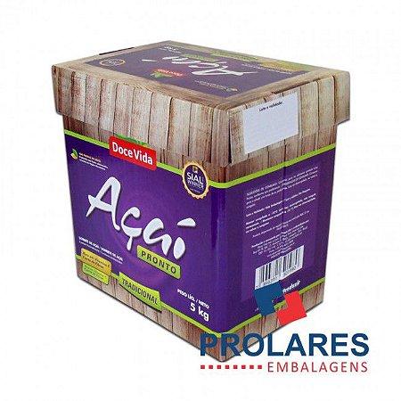 Caixa para Açaí ou Sorvete - 5 Litros - Gráfica
