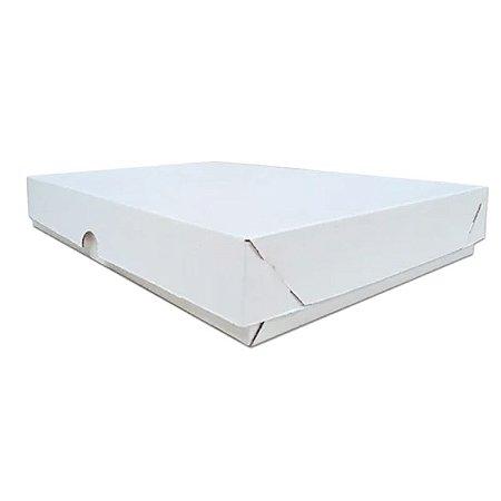 Caixa Branca Para Salgados e Doces - 30x30x5