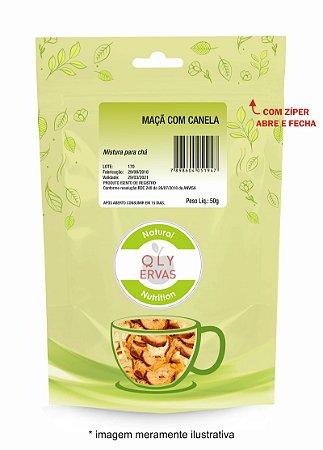 Pacote Chá de Hibisco Maçã e Canela Qly Ervas 30g